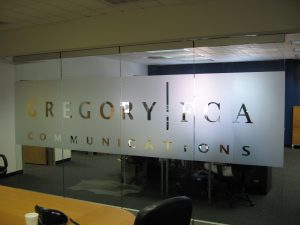 Vinyl Window Film for Corporate Office