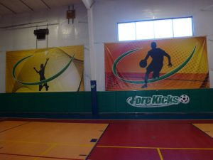 basketball wall banner