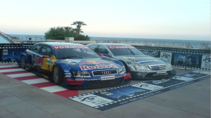pavement signs and car wraps