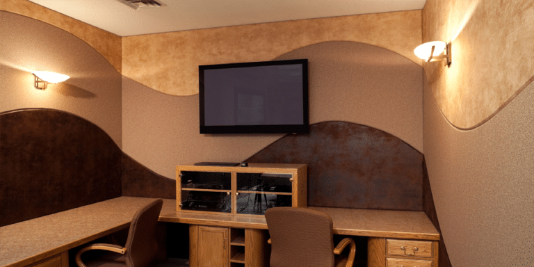 tv room installation