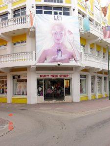 Dufry Aruba Mainstreet Banner