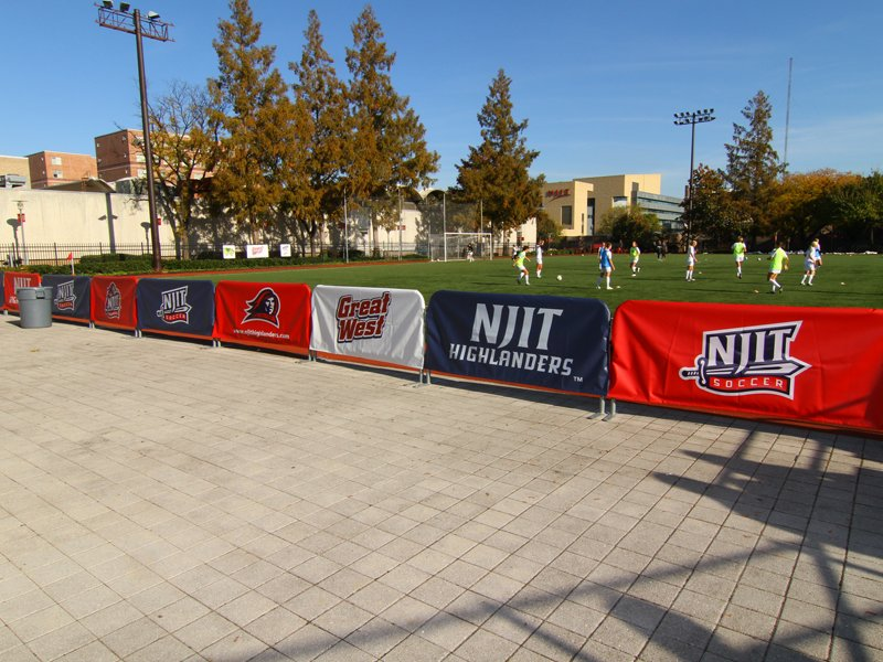 baseball field banner