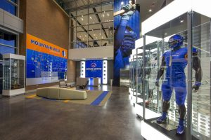 BSU football installation