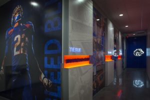 Boise State Football Training installation
