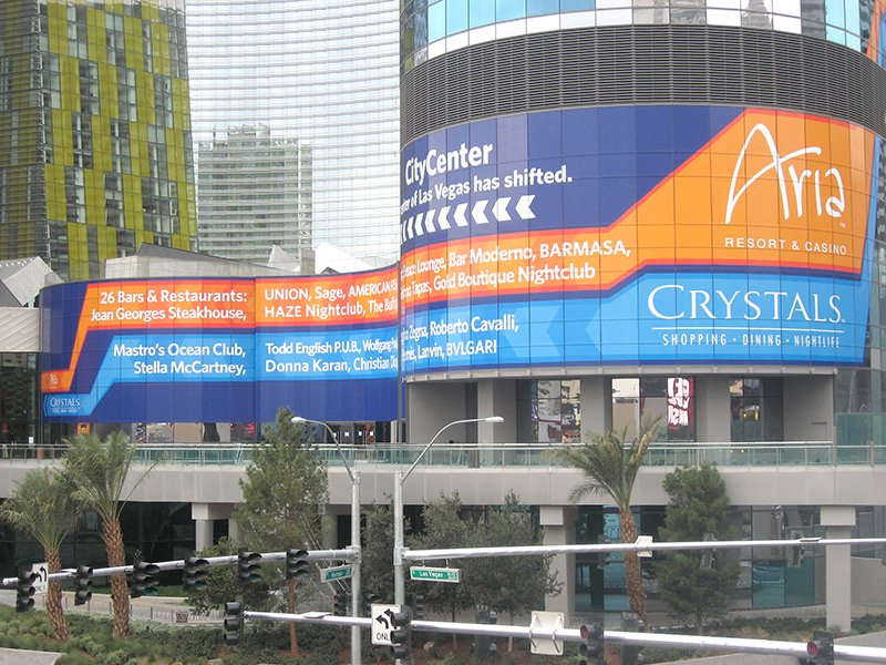 large format wall banner