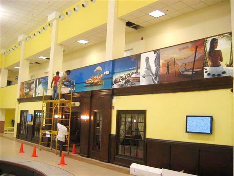 indoor wall banner