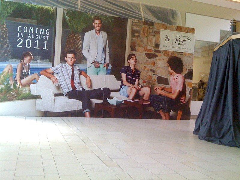 indoor retail graphic