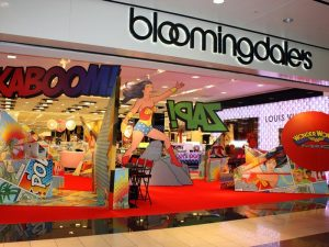 bloomingdales custom display