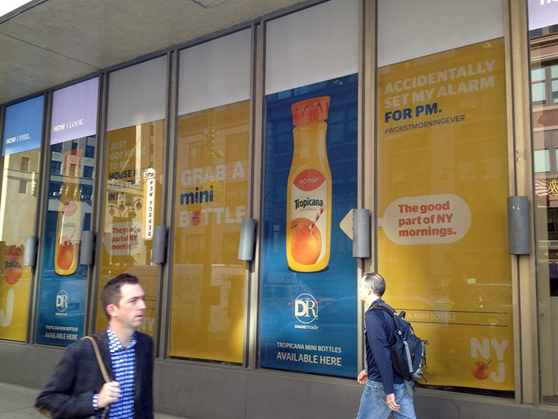 orange juice window graphics