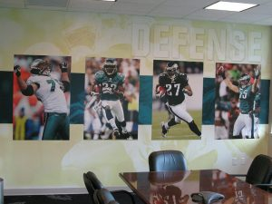 football wall graphics